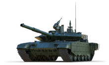 Russian Main Battle Tank. Isol...