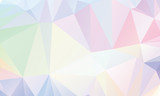 Pastel Polygon Geometric - 77263286