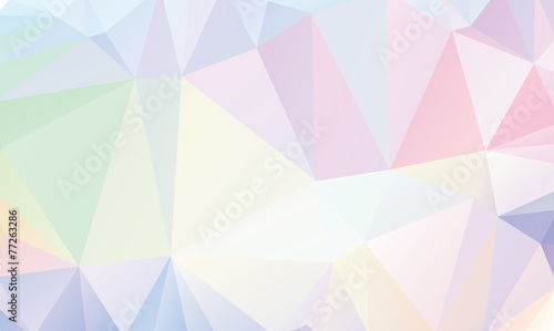 Photo  Pastel Polygon Geometric