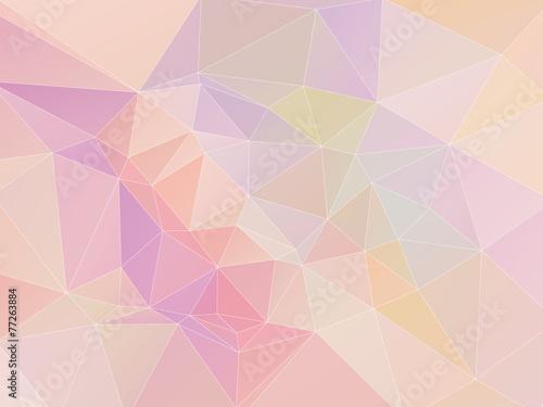 Pastel Polygon Geometric
