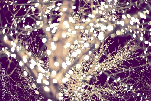 Fotografering  Holiday Lights Backdrop