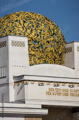 Obraz na plátne  Secession Building in Vienna, Austria