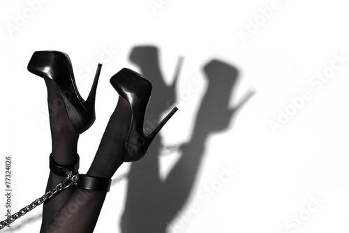 Photo  Beine mit Schatten