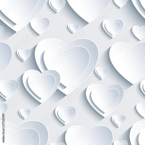 szary-wzor-z-3d-serca-dla
