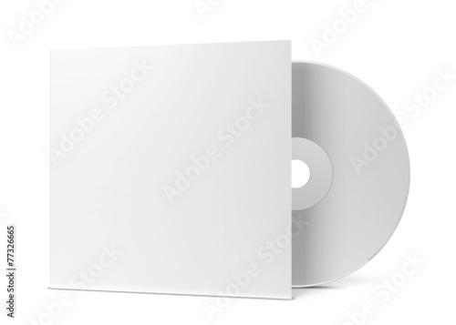Obraz Blank cd cover - fototapety do salonu