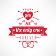 You are the only one