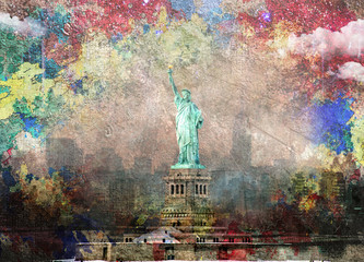 Fototapeta Nowy York NYC Landscape