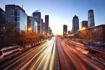 Fototapeta Beijing cityscape