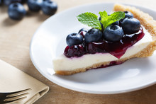 Piece Of Blueberry Cheesecake ...