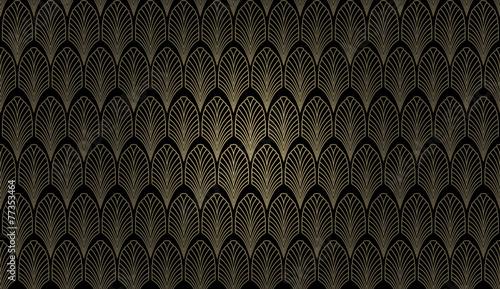 Art Deco Wall - 77353464