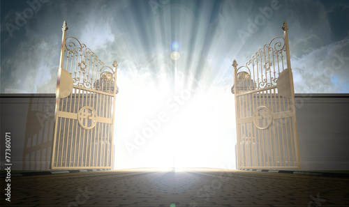 Photo Heavens Gates Opening