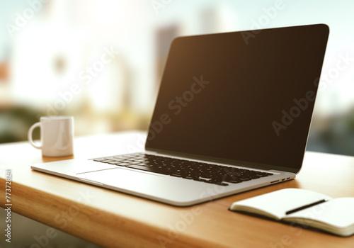 Fotografia  modern laptop