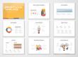Creative infographics presentation templates and brochures
