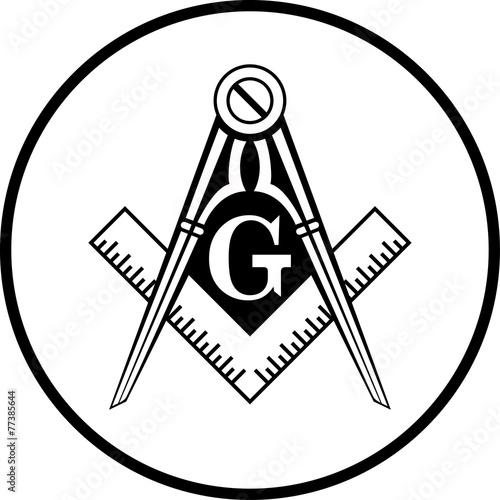 Fotografija  Masonic Symbol