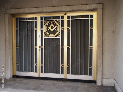 Valokuva  Freemasonry Door