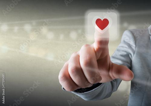 Valokuva  Touch the heart