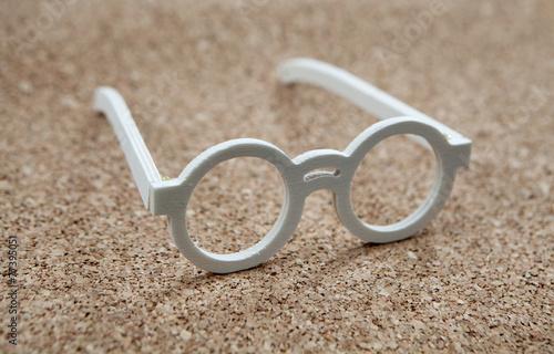 Fotografie, Obraz  lunettes en bois