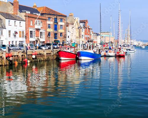 Fotografiet Weymouth Harbour Dorset