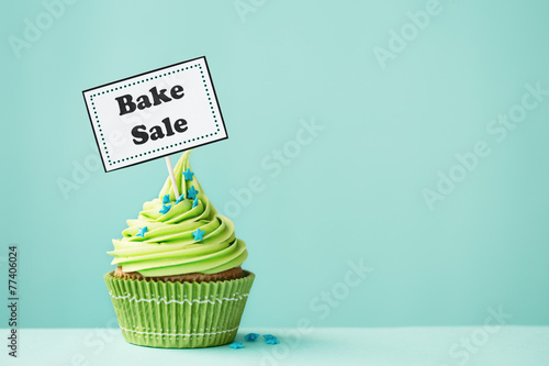 Photo Bake sale cupcake