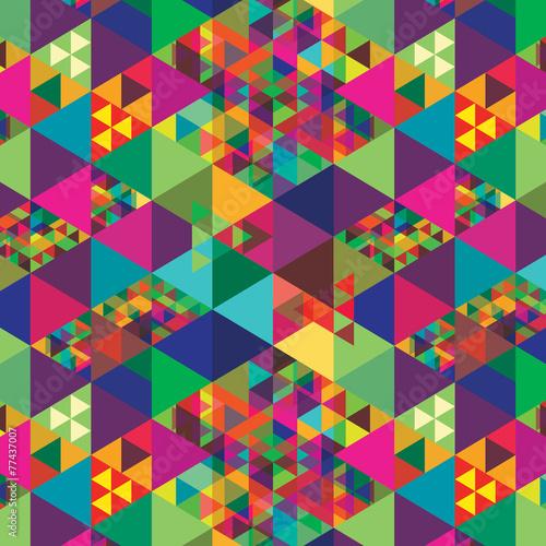 Fotobehang ZigZag Geometric abstract