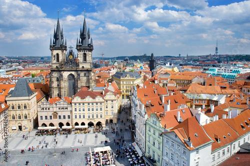 Staande foto Praag Old Town Square, Prague (UNESCO), Czech republic