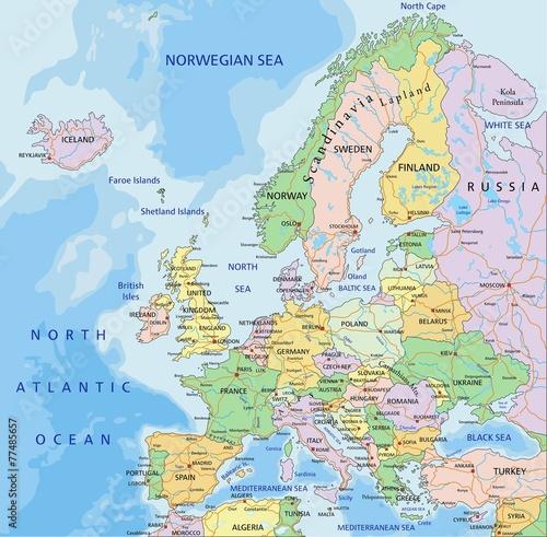 europa-bardzo-szczegolowa-edytowalna-mapa-polityczna