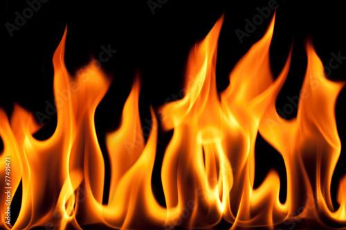 Keuken foto achterwand Vlam Lodernde Flamme