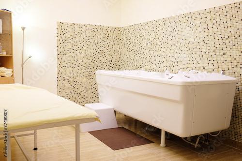 Valokuvatapetti The balneotherapy bath in Spa salon