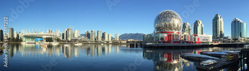 Fotomural  False Creek Vancouver