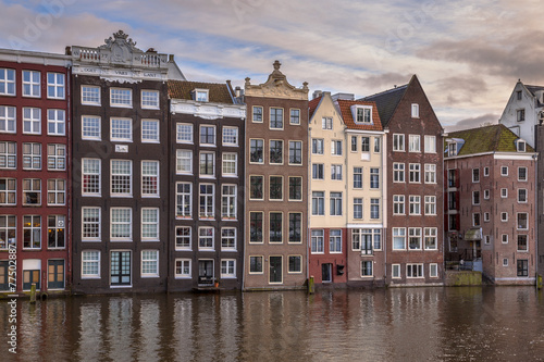 Photo  Canal houses Amsterdam