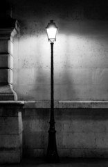 Plakat Vintage lamp post in Paris
