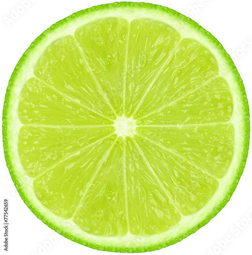 Fototapeta lime slice