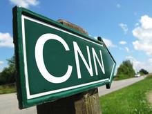 CNN Signpost Along A Rural Road