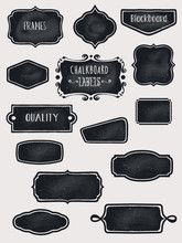 Chalkboard Frames And Labels