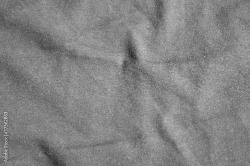 Deurstickers Stof Gray fabric texture.
