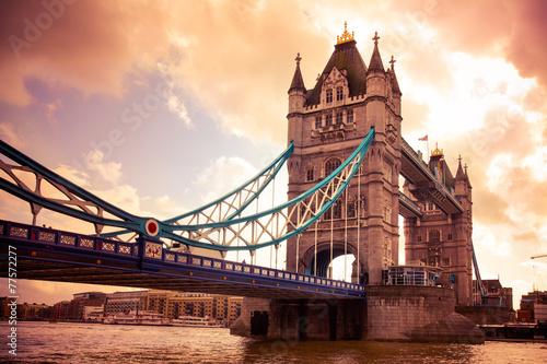 Foto op Canvas Londen Tower Bridge London, UK