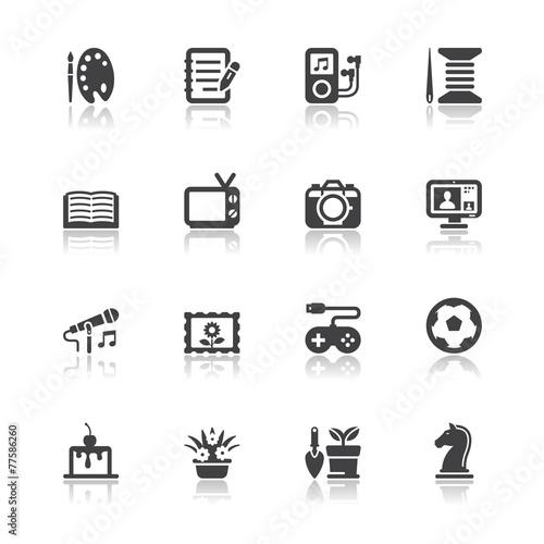 Fotografia  Hobbies Icons