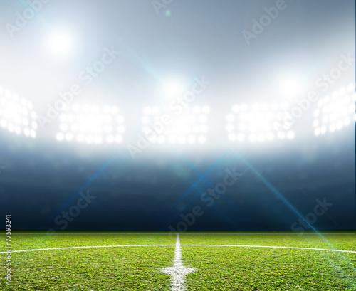 Papiers peints Stadium And Soccer Pitch