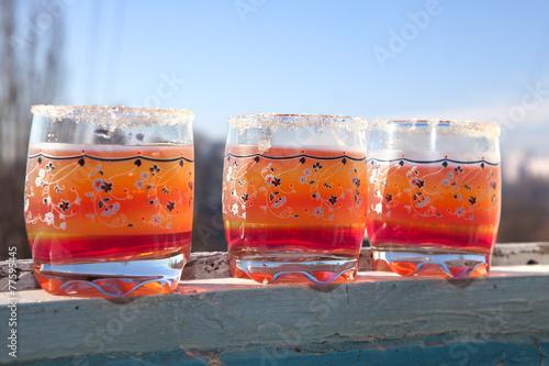 Fotografie, Obraz  glasses of juice
