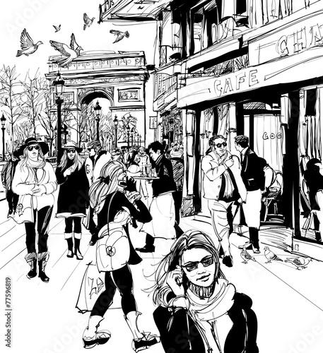 ludzie-chodzacy-po-alei-pol-elizejskich-w-paryzu