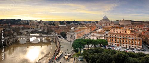 Photo Stands Rome Italie - Rome