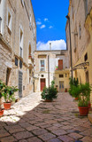 Fototapeta Perspektywa 3d - Alleyway. Altamura. Puglia. Italy.