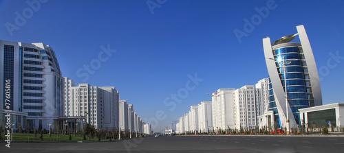 Photo Ashgabat, Turkmenistan. Modern architecture building