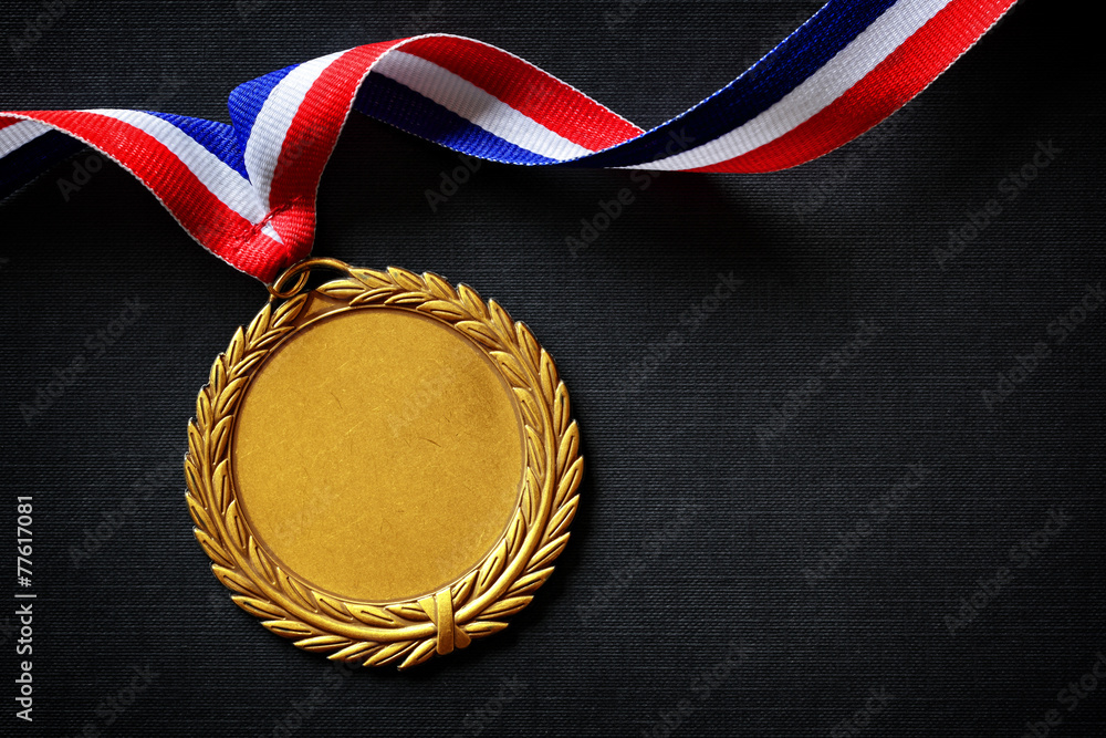 Fototapeta Olympic gold medal