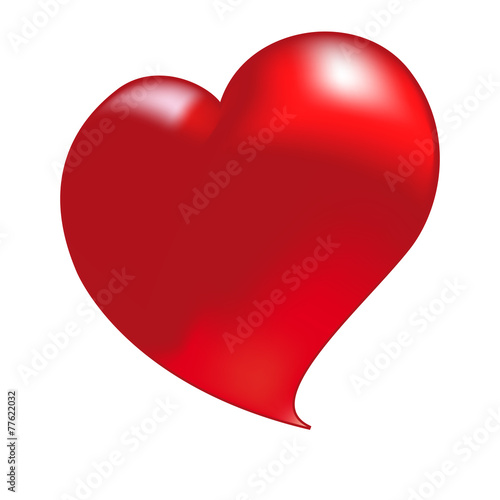 Cuore Rosso Di San Valentino Vettoriale Buy This Stock Vector And