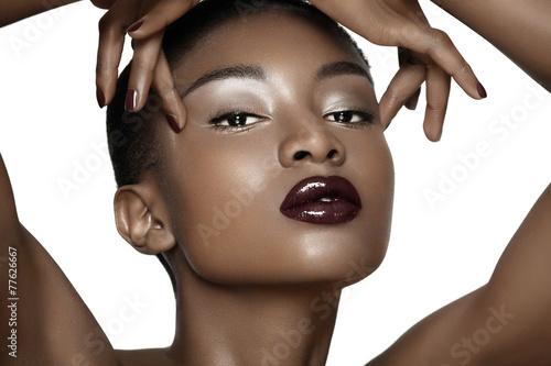 Fényképezés  Beautiful African Woman