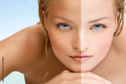 Obraz Tan - fototapety do salonu