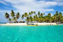 Caribbean Tropical Island, San...