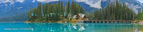 Photo sur Toile Canada Emerald Lake