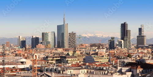 Cadres-photo bureau Milan Views of Milan, Italy